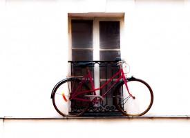 Vélo, Paris, étage…