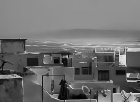 Essaouira Océan N&B