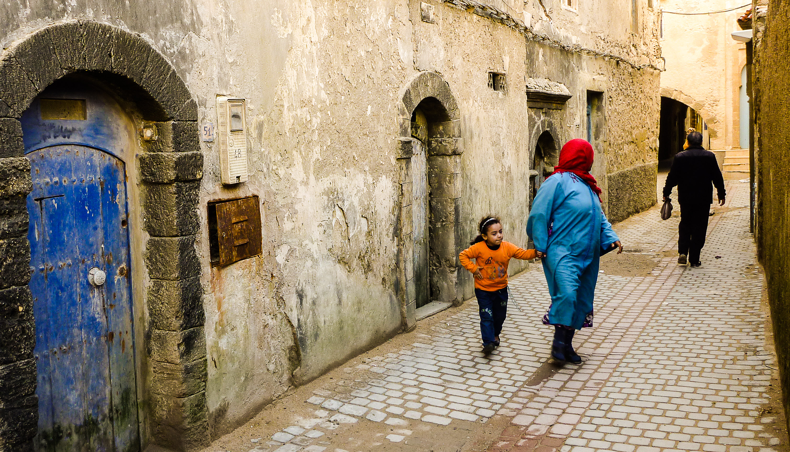 Essaouira Quartier oublié en pleine saison