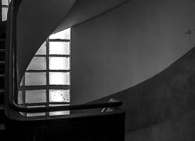 Les lignes de l'escalier L.Blassa