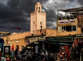 Mosquée place Jamaa El Fna