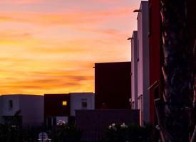 Coucher de soleil sur Villeroy, Sète