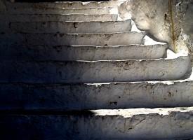 Escalier en Grêce