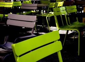 Chaises fluos Terrasse Montpellier