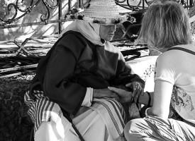 Femmes de Chaouen en discussion