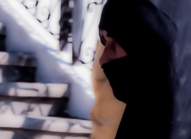 La femme en Noir de Chaouen