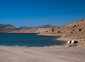 Lac derrière la Route de Benslimane