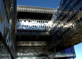 Mairie de Montpellier structure.