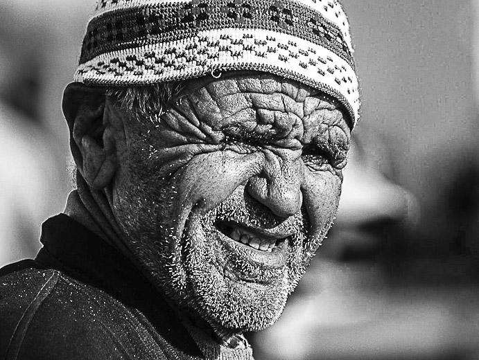 Pêcheur au port d'Essaouira