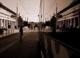 Reflet Tram Montpellier