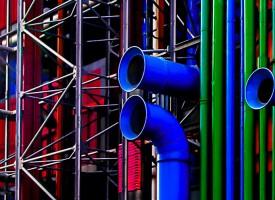 Les tubes de Beaubourg