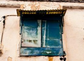 La fenètre bleue, Rabat