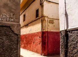 Perspective Médina Rabat