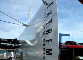 Tranchant des flotteurs Extreme 40 Sète
