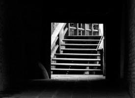Venise, l'escalier